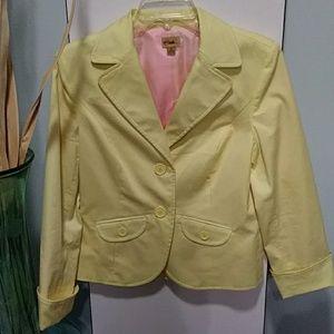Caslon M yellow blazer
